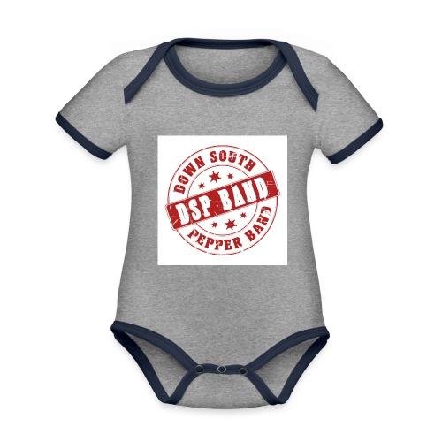 DSP band logo - Organic Baby Contrasting Bodysuit