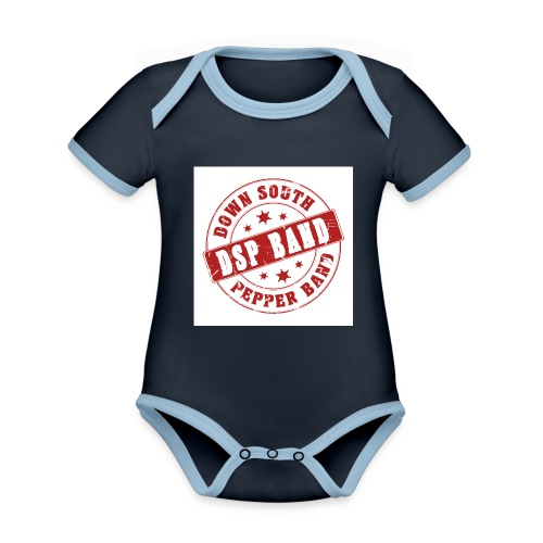 DSP band logo - Organic Baby Contrasting Bodysuit