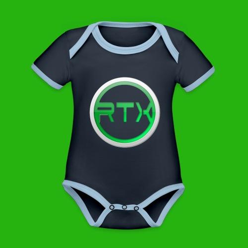 Logo Shirt - Organic Baby Contrasting Bodysuit