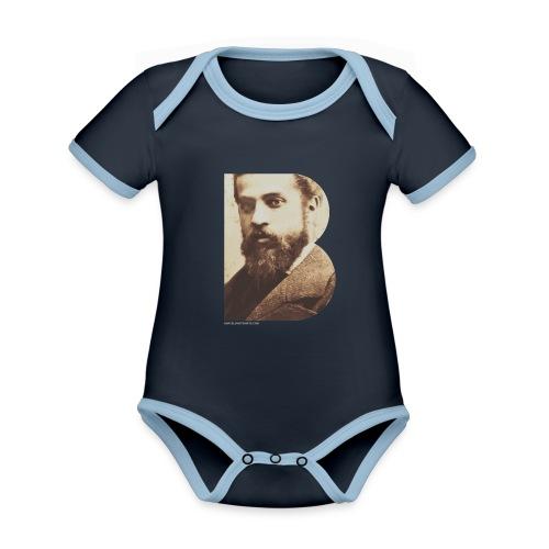BT_GAUDI_ILLUSTRATOR - Organic Baby Contrasting Bodysuit