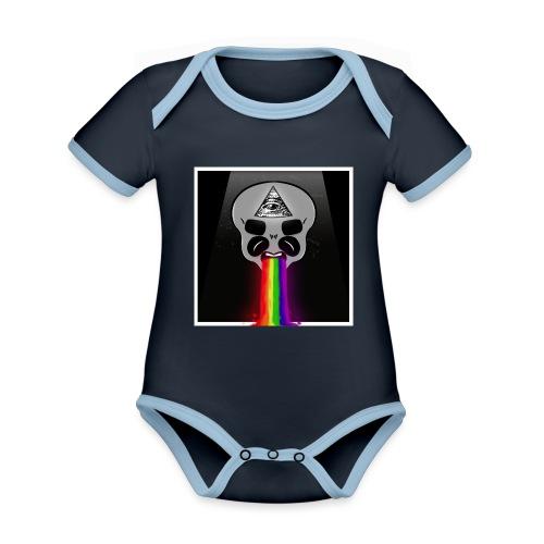 Alien Had - Baby Bio-Kurzarm-Kontrastbody