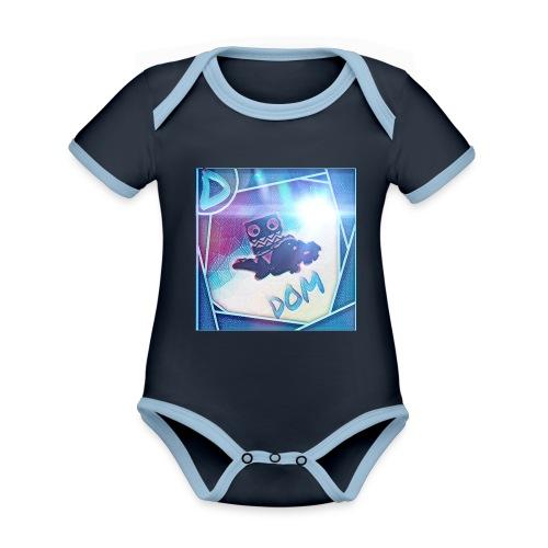 DOM - Organic Baby Contrasting Bodysuit