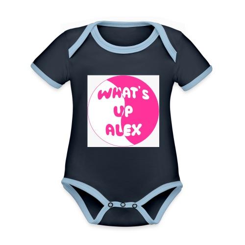 45F8EAAD 36CB 40CD 91B7 2698E1179F96 - Organic Baby Contrasting Bodysuit