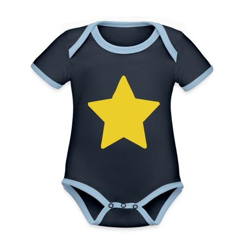 Steven Universe's T-Shirt - Body contraste para bebé de tejido orgánico