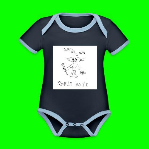 Goblin Noise - Organic Baby Contrasting Bodysuit