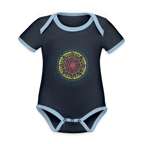 Beginning - Organic Baby Contrasting Bodysuit