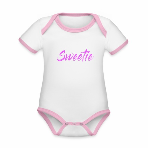 Sweetie - Organic Baby Contrasting Bodysuit