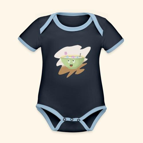 Milk party - Body contraste para bebé de tejido orgánico
