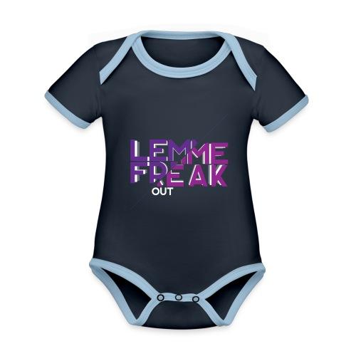 Lemme Freak - Baby Bio-Kurzarm-Kontrastbody