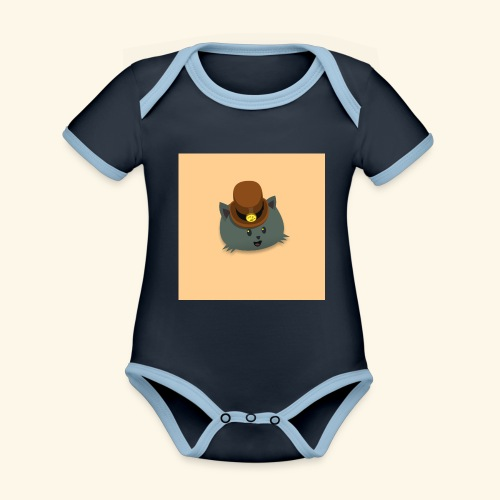 HCP custo 12 - Organic Baby Contrasting Bodysuit