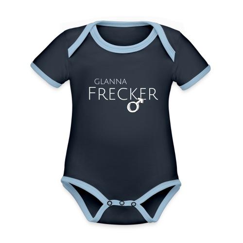 GLANNA FRECKER - Baby Bio-Kurzarm-Kontrastbody