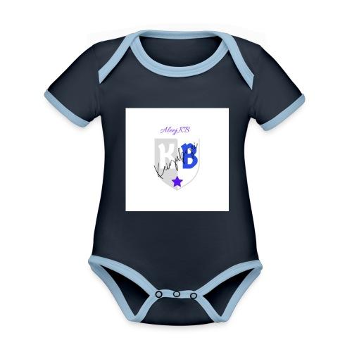 Keiby3D - Body contraste para bebé de tejido orgánico