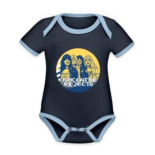 Kiddiewear 1 - Organic Baby Contrasting Bodysuit