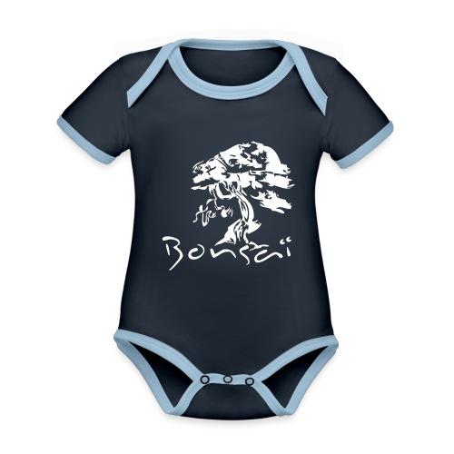 Tee-Shirt Homme Bonsaï Tree - Body Bébé bio contrasté manches courtes