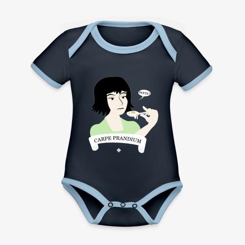 Carpe Prandium - Organic Baby Contrasting Bodysuit