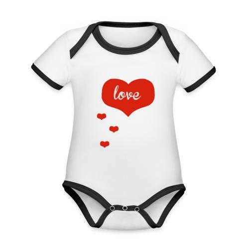 baby boo design - Organic Baby Contrasting Bodysuit