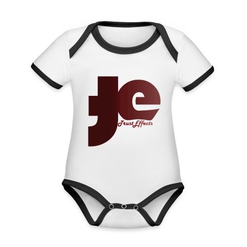 company logo - Organic Baby Contrasting Bodysuit