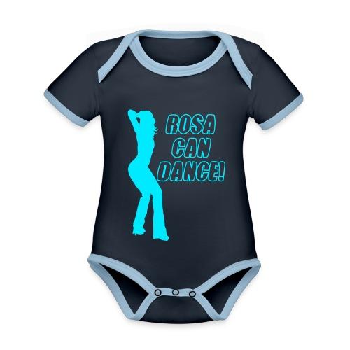 rosacandance - Organic Baby Contrasting Bodysuit