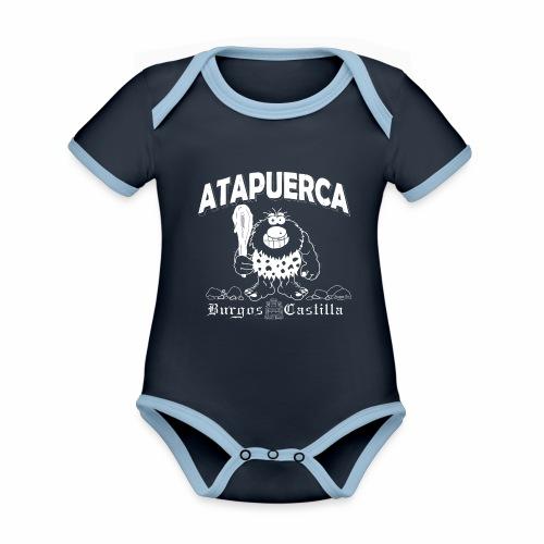 Dupi en Atapuerca - Body contraste para bebé de tejido orgánico