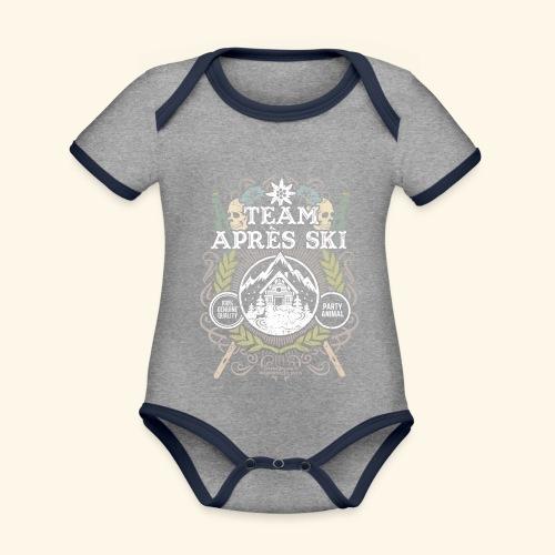 tassepiasprd - Baby Bio-Kurzarm-Kontrastbody