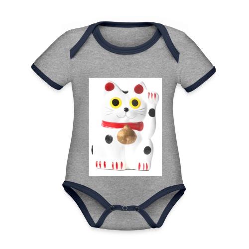 luckycat - Organic Baby Contrasting Bodysuit