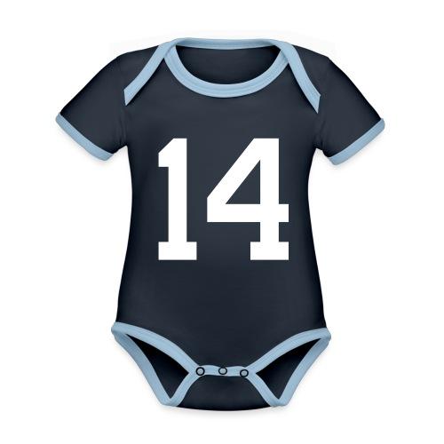 14 HEINRICH Michael - Baby Bio-Kurzarm-Kontrastbody