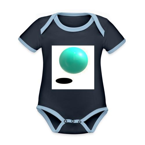 sing - Body contraste para bebé de tejido orgánico