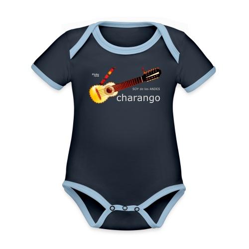 De los ANDES - Charango II - Body contraste para bebé de tejido orgánico