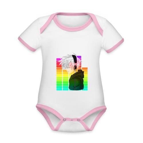 Electronic Music - Anime - Organic Baby Contrasting Bodysuit