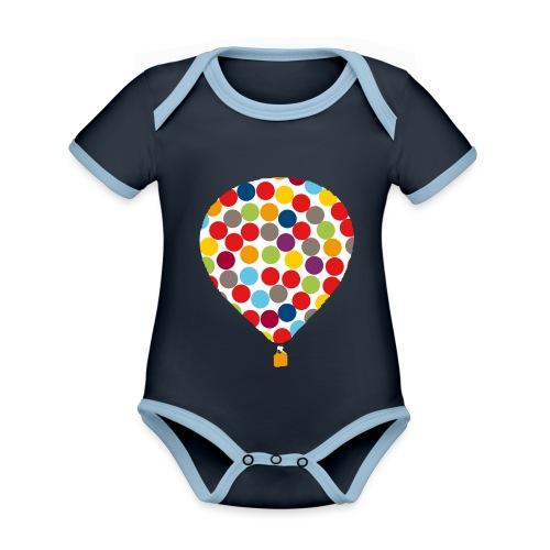 InklusionsBallon - Baby Bio-Kurzarm-Kontrastbody
