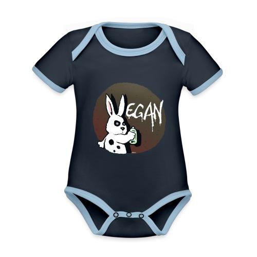 Rabbit - Baby Bio-Kurzarm-Kontrastbody