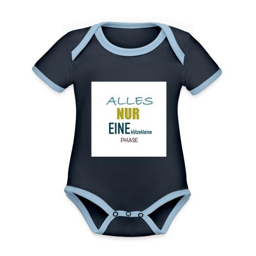 Mutti-Mutmacher: ALLES NUR EINE klitzekleine PHASE - Baby Bio-Kurzarm-Kontrastbody