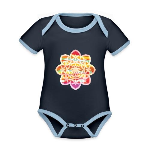 Celtic Star - Organic Baby Contrasting Bodysuit