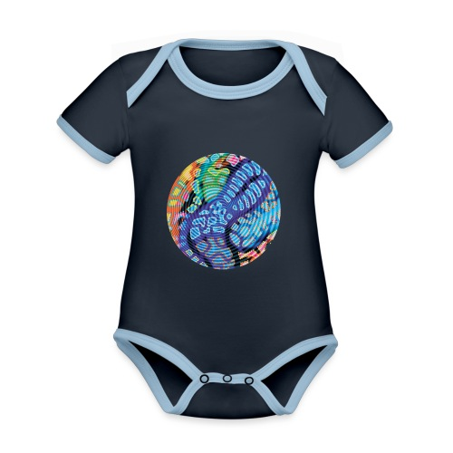 concentric - Organic Baby Contrasting Bodysuit
