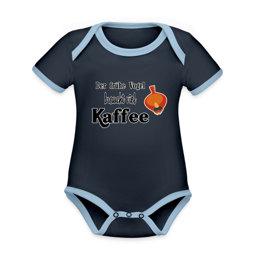 kaffeeVogel.png - Baby Bio-Kurzarm-Kontrastbody