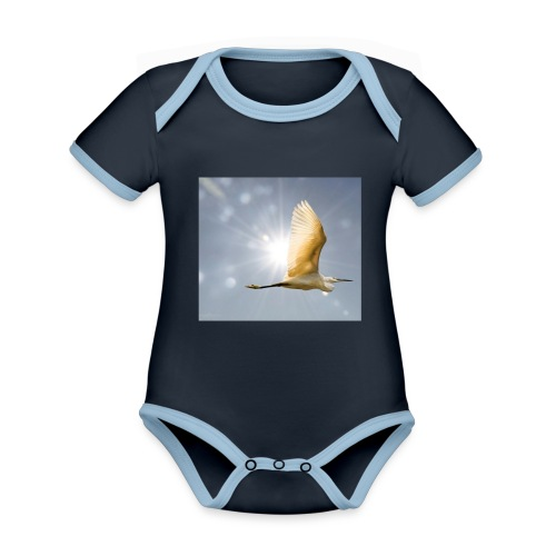 IMG 20180311 111503 - Organic Baby Contrasting Bodysuit
