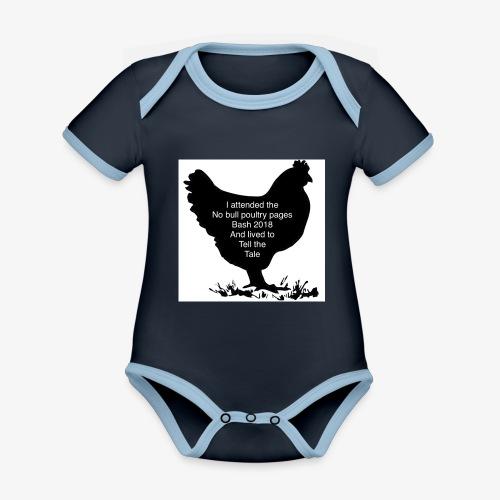 2DE2ADD8 8397 41E2 B462 85931C4D203C - Organic Baby Contrasting Bodysuit