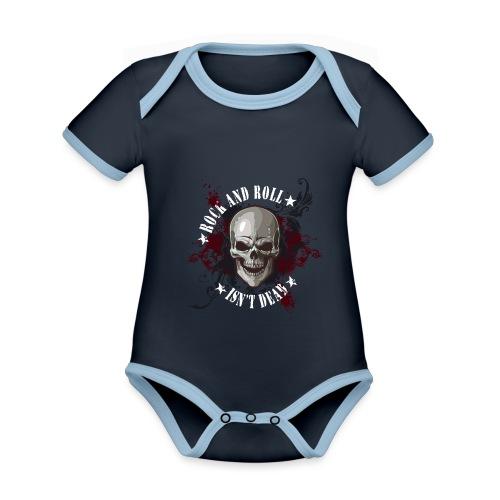 Rock and Roll isn´t dead - Body contraste para bebé de tejido orgánico