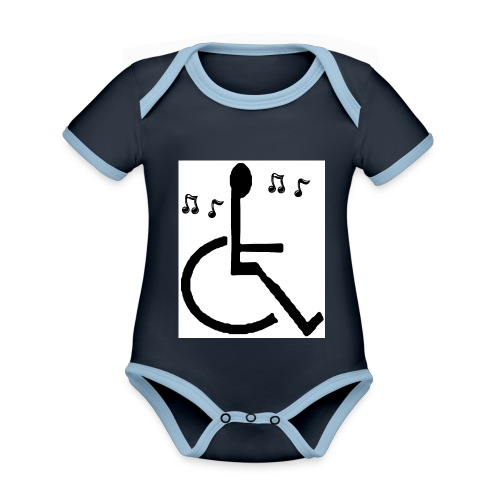 Musical Chairs - Organic Baby Contrasting Bodysuit
