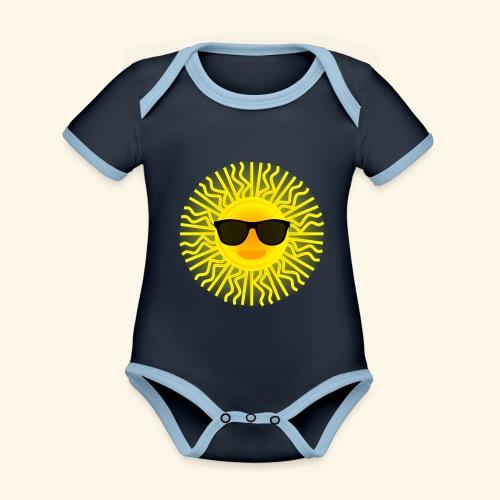 Sol de Canarias - Body contraste para bebé de tejido orgánico