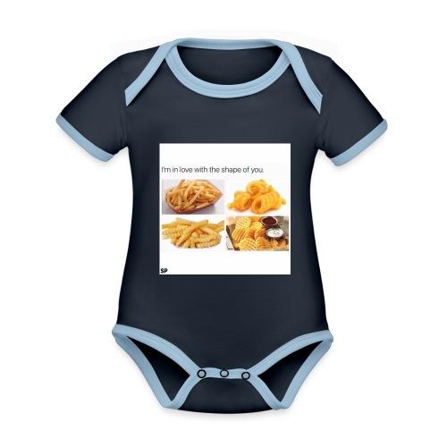 Shape - Baby Bio-Kurzarm-Kontrastbody