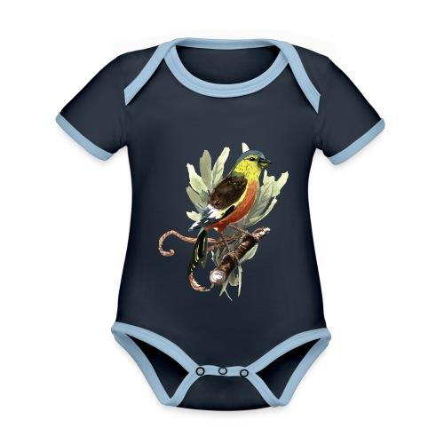 Meise - Baby Bio-Kurzarm-Kontrastbody