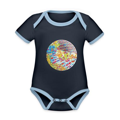 Unfold - Organic Baby Contrasting Bodysuit