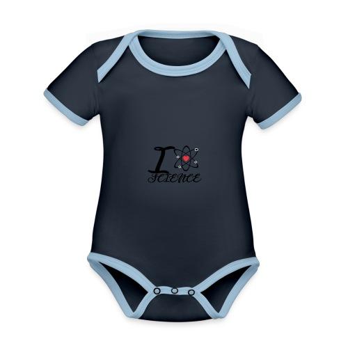 Science - Baby Bio-Kurzarm-Kontrastbody