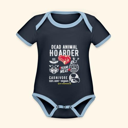 Dead Animal Hoarder - Baby Bio-Kurzarm-Kontrastbody