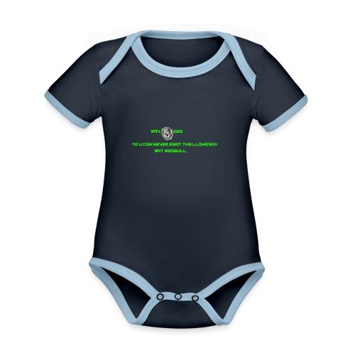 SAVAGE - Organic Baby Contrasting Bodysuit