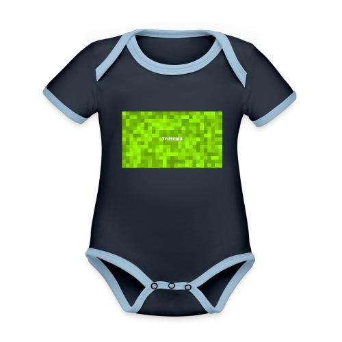 Triffcold Design - Baby Bio-Kurzarm-Kontrastbody