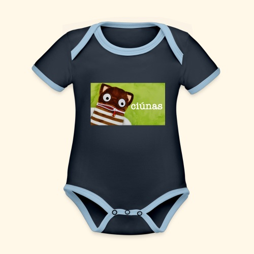 ciunas - Organic Baby Contrasting Bodysuit