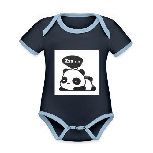 shinypandas - Organic Baby Contrasting Bodysuit
