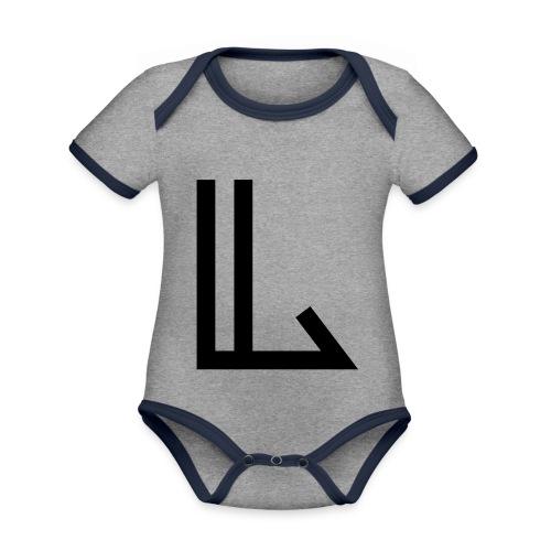 L - Organic Baby Contrasting Bodysuit
